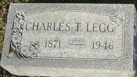 LEGG, CHARLES T - Franklin County, Ohio | CHARLES T LEGG - Ohio Gravestone Photos