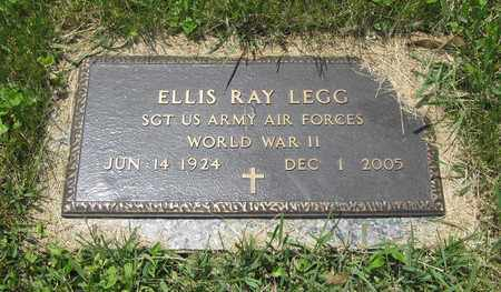 LEGG, ELLIS RAY - Franklin County, Ohio | ELLIS RAY LEGG - Ohio Gravestone Photos