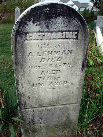 LEHMAN, CATHARINE - Franklin County, Ohio | CATHARINE LEHMAN - Ohio Gravestone Photos