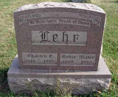MILLER LEHR, RICKIE - Franklin County, Ohio | RICKIE MILLER LEHR - Ohio Gravestone Photos