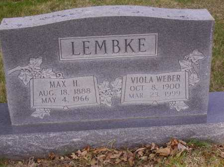 LEMKE, VIOLA - Franklin County, Ohio | VIOLA LEMKE - Ohio Gravestone Photos