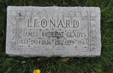 LEONARD, JAMES - Franklin County, Ohio | JAMES LEONARD - Ohio Gravestone Photos