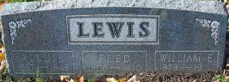 TULLER LEWIS, ALLUIE - Franklin County, Ohio | ALLUIE TULLER LEWIS - Ohio Gravestone Photos