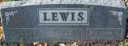 LEWIS, WILLIAM E - Franklin County, Ohio | WILLIAM E LEWIS - Ohio Gravestone Photos