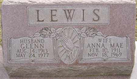 LEWIS, GLENN - Franklin County, Ohio | GLENN LEWIS - Ohio Gravestone Photos