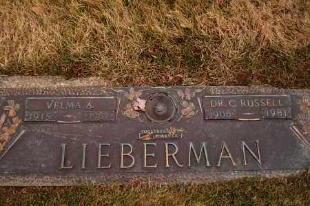 DUGGER LIEBERMAN, VELMA - Franklin County, Ohio | VELMA DUGGER LIEBERMAN - Ohio Gravestone Photos