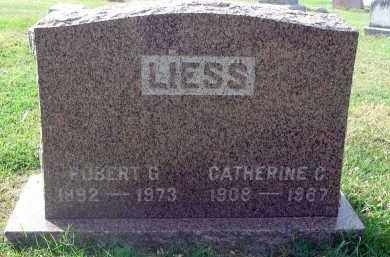 LIESS, ROBERT G. - Franklin County, Ohio | ROBERT G. LIESS - Ohio Gravestone Photos