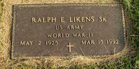 LIKENS, RALPH E. - Franklin County, Ohio | RALPH E. LIKENS - Ohio Gravestone Photos