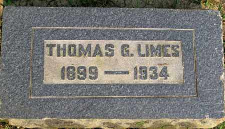 LIMES, THOMAS - Franklin County, Ohio | THOMAS LIMES - Ohio Gravestone Photos