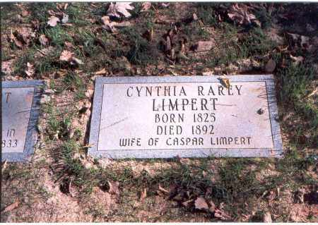 RAREY LIMPERT, CYNTHIA - Franklin County, Ohio | CYNTHIA RAREY LIMPERT - Ohio Gravestone Photos
