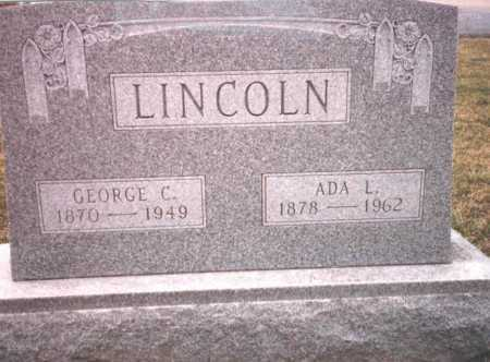 LINCOLN, GEORGE C. - Franklin County, Ohio | GEORGE C. LINCOLN - Ohio Gravestone Photos