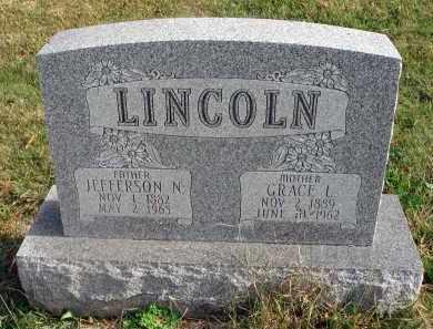 LINCOLN, JEFFERSON N. - Franklin County, Ohio | JEFFERSON N. LINCOLN - Ohio Gravestone Photos
