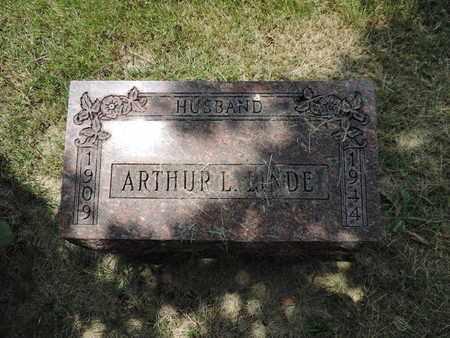 LINDE, ARTHUR L. - Franklin County, Ohio | ARTHUR L. LINDE - Ohio Gravestone Photos