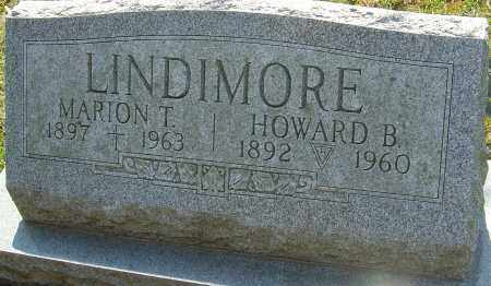 LINDIMORE, HOWARD B - Franklin County, Ohio | HOWARD B LINDIMORE - Ohio Gravestone Photos
