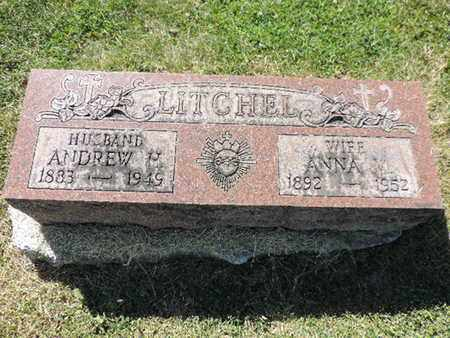 LITCHEL, ANDREW H - Franklin County, Ohio | ANDREW H LITCHEL - Ohio Gravestone Photos