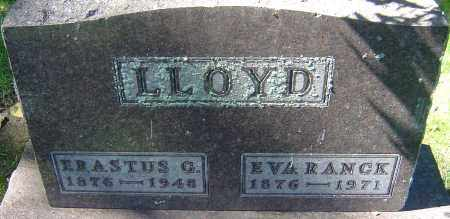 LLOYD, ERASTUS GUY - Franklin County, Ohio | ERASTUS GUY LLOYD - Ohio Gravestone Photos
