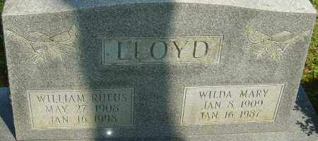 LLOYD, WILLIAM RUFUS - Franklin County, Ohio | WILLIAM RUFUS LLOYD - Ohio Gravestone Photos