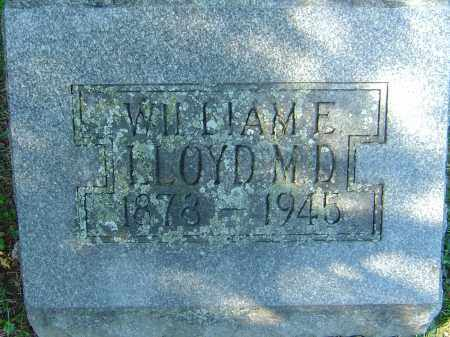 LLOYD, WILLIAM E - Franklin County, Ohio | WILLIAM E LLOYD - Ohio Gravestone Photos