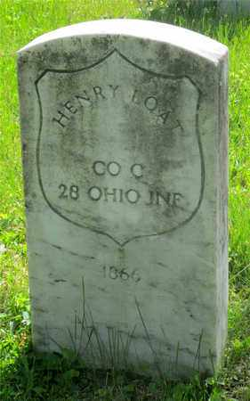 LOAT, HENRY - Franklin County, Ohio | HENRY LOAT - Ohio Gravestone Photos