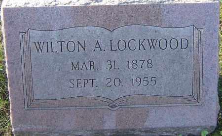 LOCKWOOD, WILTON A - Franklin County, Ohio   WILTON A LOCKWOOD - Ohio Gravestone Photos
