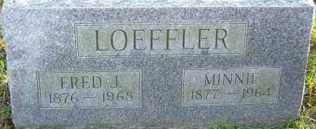 LOEFFLER, MINNIE - Franklin County, Ohio | MINNIE LOEFFLER - Ohio Gravestone Photos