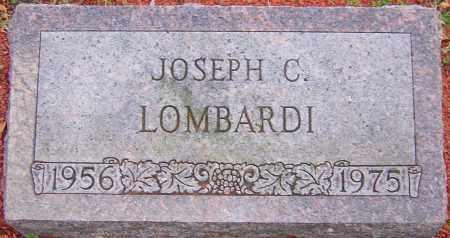 LOMBARDI, JOSEPH - Franklin County, Ohio | JOSEPH LOMBARDI - Ohio Gravestone Photos
