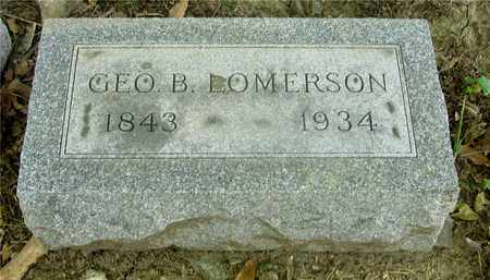 LOMERSON, GEO. B. - Franklin County, Ohio | GEO. B. LOMERSON - Ohio Gravestone Photos