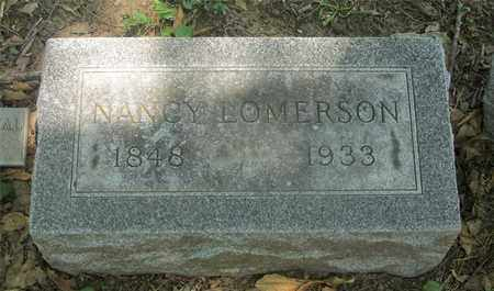 LOMERSON, NANCY - Franklin County, Ohio | NANCY LOMERSON - Ohio Gravestone Photos