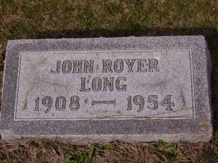 LONG, JOHN ROYER - Franklin County, Ohio | JOHN ROYER LONG - Ohio Gravestone Photos