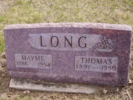 LONG, MAYME - Franklin County, Ohio | MAYME LONG - Ohio Gravestone Photos
