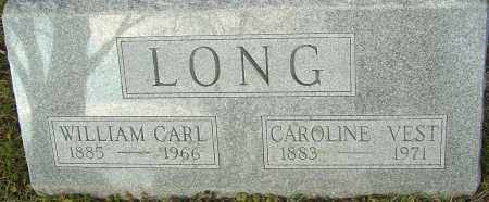 LONG, WILLIAM CARL - Franklin County, Ohio | WILLIAM CARL LONG - Ohio Gravestone Photos