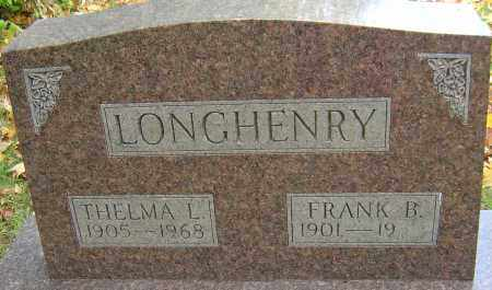LONGHENRY, THELMA - Franklin County, Ohio | THELMA LONGHENRY - Ohio Gravestone Photos