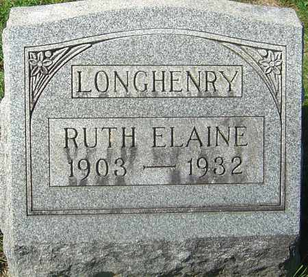 LONGHENRY, RUTH ELAINE - Franklin County, Ohio | RUTH ELAINE LONGHENRY - Ohio Gravestone Photos