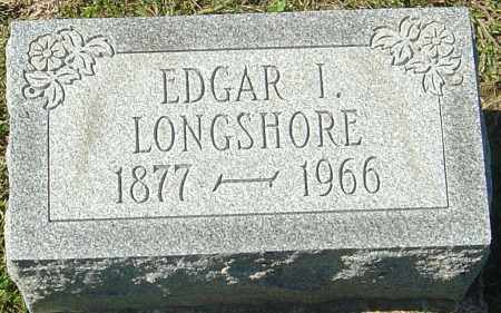 LONGSHORE, EDGAR I - Franklin County, Ohio | EDGAR I LONGSHORE - Ohio Gravestone Photos