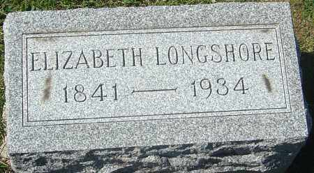 LONGSHORE, ELIZABETH - Franklin County, Ohio | ELIZABETH LONGSHORE - Ohio Gravestone Photos