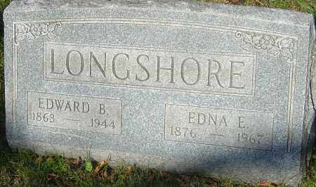 LONGSHORE, EDWARD B - Franklin County, Ohio | EDWARD B LONGSHORE - Ohio Gravestone Photos