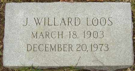 LOOS, J WILLARD - Franklin County, Ohio | J WILLARD LOOS - Ohio Gravestone Photos
