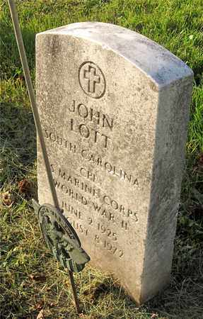 LOTT, JOHN - Franklin County, Ohio | JOHN LOTT - Ohio Gravestone Photos
