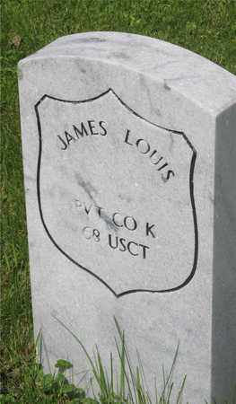 LOUIS, JAMES - Franklin County, Ohio | JAMES LOUIS - Ohio Gravestone Photos