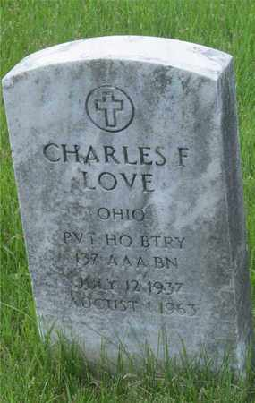 LOVE, CHARLES F. - Franklin County, Ohio | CHARLES F. LOVE - Ohio Gravestone Photos