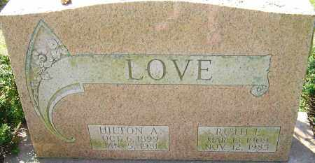 LOVE, HILTON - Franklin County, Ohio | HILTON LOVE - Ohio Gravestone Photos