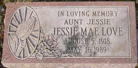 LOVE, JESSIE MAE - Franklin County, Ohio | JESSIE MAE LOVE - Ohio Gravestone Photos