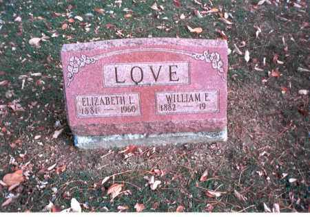 LOVE, ELIZABETH L. - Franklin County, Ohio | ELIZABETH L. LOVE - Ohio Gravestone Photos