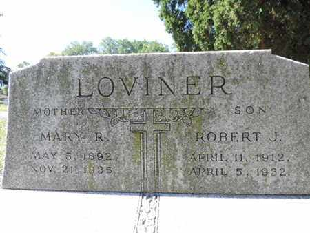 LOVINER, MARY R. - Franklin County, Ohio | MARY R. LOVINER - Ohio Gravestone Photos