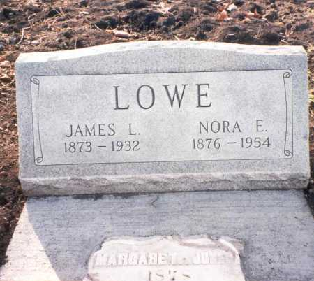 WEATHERINGTON LOWE, NORA E. - Franklin County, Ohio | NORA E. WEATHERINGTON LOWE - Ohio Gravestone Photos