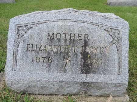 LOWRY, ELIZABETH T. - Franklin County, Ohio | ELIZABETH T. LOWRY - Ohio Gravestone Photos