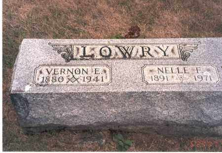 FAIR LOWRY, NELLE F. - Franklin County, Ohio | NELLE F. FAIR LOWRY - Ohio Gravestone Photos