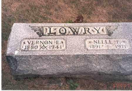 LOWRY, VERNON E. - Franklin County, Ohio | VERNON E. LOWRY - Ohio Gravestone Photos