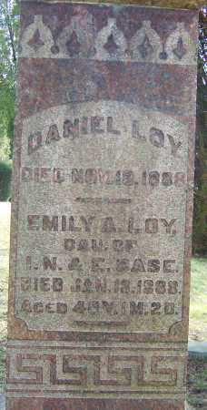 CASE LOY, EMILY - Franklin County, Ohio | EMILY CASE LOY - Ohio Gravestone Photos