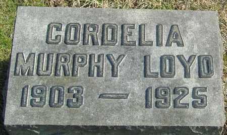 LOYD, CORDELIA - Franklin County, Ohio | CORDELIA LOYD - Ohio Gravestone Photos